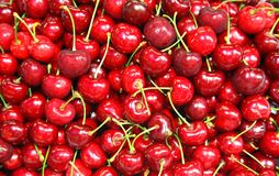 Ripe cherry Royalty Free Stock Photos