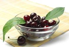 Ripe cherry berries Royalty Free Stock Image