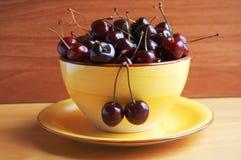 Ripe cherry Stock Photos