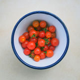 Ripe Cherry Tomatoes Royalty Free Stock Photography