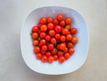 Ripe Cherry Tomatoes Stock Photos