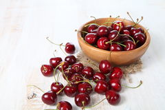 Ripe cherry Royalty Free Stock Image