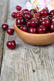 Ripe cherry Stock Photography