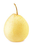 Ripe chinese pear isolated Royalty Free Stock Photo