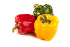 Ripe colored pepper Royalty Free Stock Image