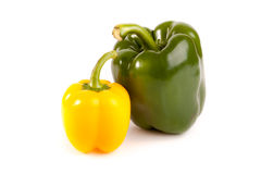 Ripe colored pepper Stock Photos