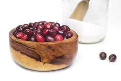 Ripe cranberries Stock Image