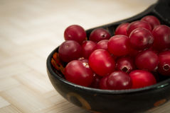Ripe cranberries Royalty Free Stock Images