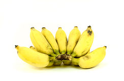 Ripe cultivated banana Royalty Free Stock Photo