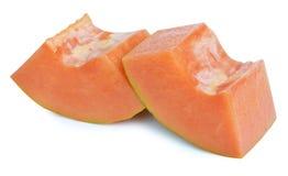 A ripe cutting papaya fruit Royalty Free Stock Photography