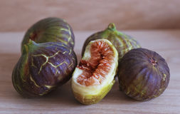 Ripe and delicious figs Royalty Free Stock Images