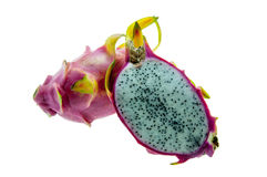 Ripe dragon fruit. Royalty Free Stock Images