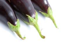 Ripe eggplants Royalty Free Stock Image