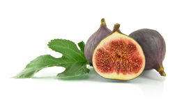 Ripe fig stock photography