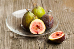 Ripe Fig Fruits Royalty Free Stock Images