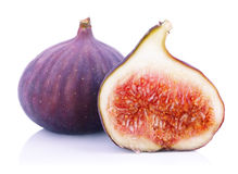 Ripe fig fruits Stock Photography