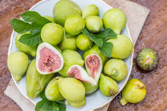 Ripe fig fruits. royalty free stock image