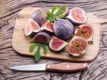 Ripe fig fruits. Stock Photos