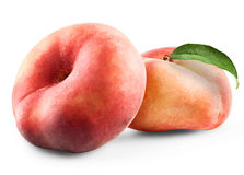 Ripe fig peach Stock Photography