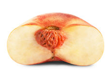 Ripe fig peach Stock Images