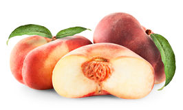 Ripe fig peach Royalty Free Stock Photo
