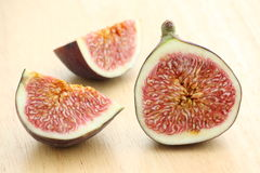 Ripe Fig Slices Royalty Free Stock Photo