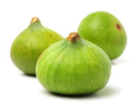 Ripe figs. Isolated on white background Stock Photography