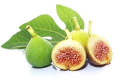 Ripe figs of Spanish origin Stock Image