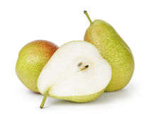 Ripe forelle pears Stock Images