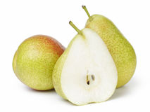 Ripe forelle pears Royalty Free Stock Image