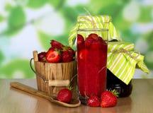 Ripe fragrant strawberries Royalty Free Stock Photos