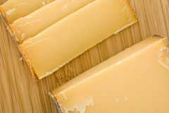 Ripe French cheese Royalty Free Stock Images