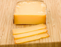 Ripe French cheese Stock Photo