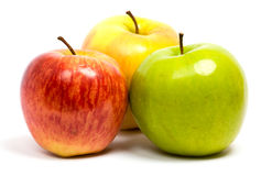 Ripe fresh apples Stock Photography