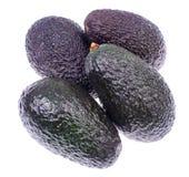 Ripe fresh avocado on white background. Studio Photo royalty free stock photography