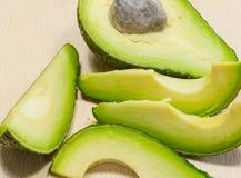 Ripe fresh avocado Stock Image