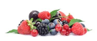Free Ripe Fresh Berrys Isolated On White Stock Photography - 198098572