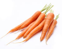 Ripe fresh carrots Royalty Free Stock Photo