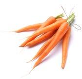 Ripe Fresh Carrots Stock Photo