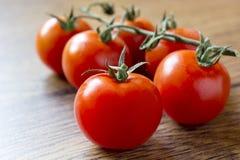 Ripe Fresh Cherry Tomatoes Royalty Free Stock Photo