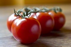 Ripe Fresh Cherry Tomatoes Royalty Free Stock Photos