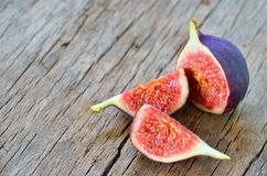 Ripe fresh fig. Shoot in studio stock photography