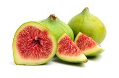 Ripe fresh fig fruits Stock Images