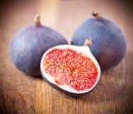 Ripe fresh Fig Royalty Free Stock Photos