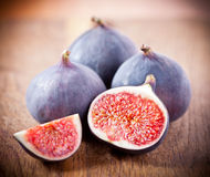 Ripe fresh Fig Stock Photography