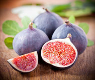 Ripe fresh Fig Stock Image