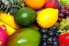 Ripe fresh fruit background Royalty Free Stock Photography