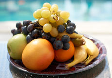 Ripe fresh fruits Stock Photography
