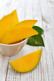 Ripe fresh mango Royalty Free Stock Photo