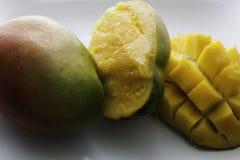Ripe fresh mangoes Royalty Free Stock Photos